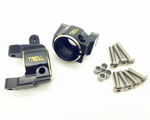Treal Brass C Hubs for Axail SCX10 II